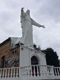 Iglesia de Guadalupe - Bogotá Statue Of Liberty, Gran Colombia, Scenery, Statue Of Liberty Facts, Statue Of Libery