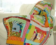 Blue Elephant Stitches: Every Baby Needs a Quilt