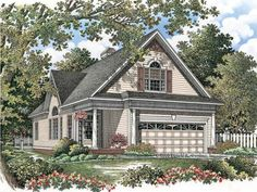 Country Style 2 story 3 bedrooms(s) House Plan with 2059 total square feet and 3 Full Bathroom(s) from Dream Home Source House Plans