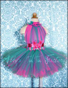 Hot Pink & Teal tutu dress | by Abbys TuTu Factory