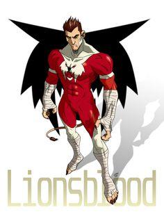 ICONS_Lionsblood_fan art by on DeviantArt Superhero Suits, Superhero Characters, Superhero Design, Special Characters, Character Profile, Comic Character, Character Design, Comic Books Art, Comic Art