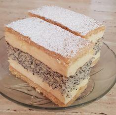 Francia mákos krémes – Ez Nem Semmi Quick Recipes, Cake Recipes, Poppy Cake, Hungarian Recipes, Vanilla Cake, Tiramisu, Cheesecake, Food And Drink, Sweets