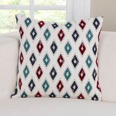 Cherokee Accent Throw Pillow