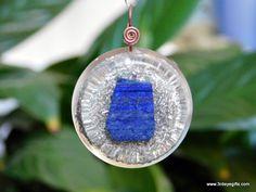 Lapis Lazuli Orgonite Pendant