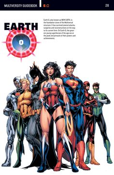The Multiversity: Earth-0.