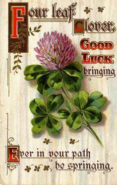 St. Patrick's Day-vintage card