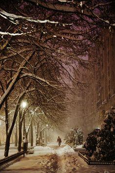 Bucarest, Romania ❄ - facuta de un strain :)