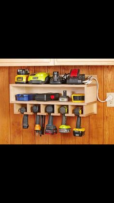 Get your garage shop in shape with garage organization and shelving. They come with garage tool storage, shelves and cabinets. Garage storage racks will give you enough space for your big items and keep them out of the way. Wood Magazine, Shed Organization, Storage Organizers, Storage Hacks, Diy Storage, Organizing Tools, Wall Storage, Woodworking Organization, Creative Storage