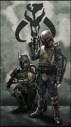 Mandalorians #Star Wars repinned by www.BlickeDeeler.de