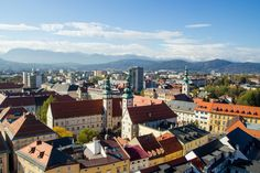 Beautiful view on the city centre of Klagenfurt am Wörthersee. Photo: Wolfgang Handler/Pixelpoint