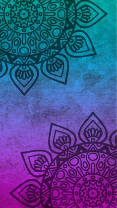 Mandala Beautiful Wallpaper For Phone, Flowery Wallpaper, Cute Patterns Wallpaper, Locked Wallpaper, Cool Wallpaper, Cute Backgrounds, Abstract Backgrounds, Wallpaper Backgrounds, Iphone Wallpaper