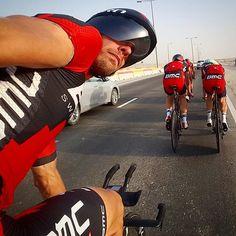 Daniel Oss and BMC WCTTT Doha, Qatar photo by danieloss