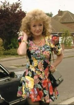 The Many Outfits of Rose from the show Keeping up Appearances Screenshot British Tv Comedies, British Comedy, British Actresses, British Actors, Actors & Actresses, British Humour, Cool Tights, English Comedy, Keeping Up Appearances