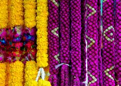 Floral garlands (Phuang Malai) by flower_bee, via Flickr
