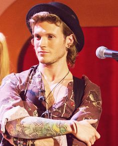 Dougie Poynter of pop rock band McFly I Have A Crush, Having A Crush, Beautiful Boys, Gorgeous Men, Tom Fletcher, Dougie Poynter, Sexy Men, Sexy Guys, Pop Rock Bands