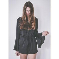 Black Playsuit by Whaelse.com