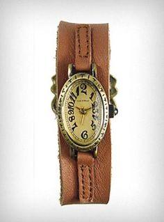Antique Chic Wrist Watch   PLASTICLAND