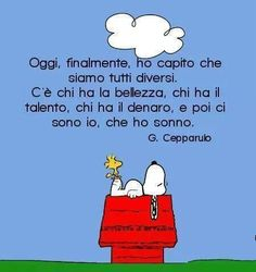 Oggi ho capito che siamo tutti diversi... #snoopy #sonno Snoopy Comics, Good Night Quotes, Good Morning Good Night, Humour Intelligent, Funny Images, Funny Photos, Good Night Greetings, Funny Bunnies, Smile Quotes