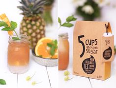 5 cups Tee meets LIEBLINGSGLAS! // Yummy tea plus beautiful drinking glass! Recipe