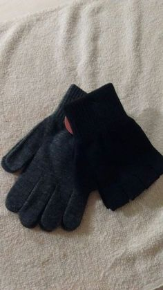 Black//Navy//Brown//Charcoal Warm Winter Thermal Glove 6 Pack Mens Wool Gloves 80/% Wool Heavy Duty Knit