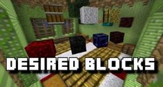 New post (Desired Blocks Mod 1.7.10) has been published on Desired Blocks Mod 1.7.10  -  Minecraft Resource Packs