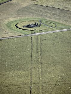 Stonehenge ring swale