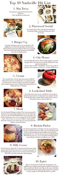 Here & Now | A Nashville Style Blog: Nashville Food Fan: Top 10
