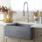 "Found it at Wayfair - Farmhouse 30"" x 18"" Stone Kitchen Sink  Love this texture of the farm house sink!   #LGLimitlessDesign  #Contest"
