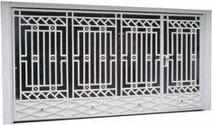 Best And Popular Front Door Metal Gates, Wrought Iron Doors, Iron Gates, Iron Gate Design, House Gate Design, Front Door Paint Colors, Painted Front Doors, Steel Railing Design, Burglar Bars