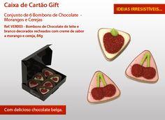 Quem é que resiste a morangos e cerejas nesta epoca do ano? E se forem de Chocolate Melhor!