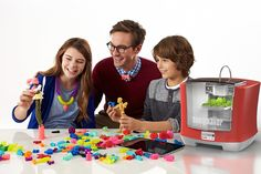 """At New York's Toy Fair trade show over the weekend, Mattel unveiledits new, $300 3D Printer, the """"ThingMaker,"""" which will allow children to print their own.."""