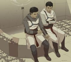 Altair and Malik