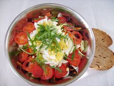 Reteta culinara Salata cu ou din categoria Salate. Cum sa faci Salata cu ou Mexican, Ethnic Recipes, Food, Salads, Essen, Meals, Yemek, Mexicans, Eten