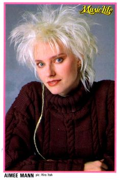 Aimee Mann Of Till Tuesday Had The Best 80s Hair With Tail