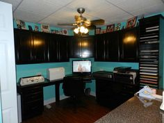 home office/craft room...This will be one of the rooms above the garage when it is built