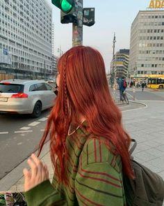 Dye My Hair, New Hair, Red Hair Inspo, Aesthetic Hair, Grunge Hair, Pretty Hairstyles, Hair Looks, Hair Inspiration, Curly Hair Styles