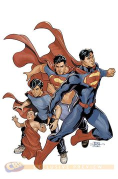 Superman by Terry & Rachel Dodson #superman #ainthejust #superheroes