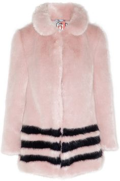 OBSESSED with this pink #Shrimps faux fur!!! Definitely joining my wardrobe this winter (via @netaporter )