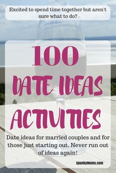 If you're excited to spend time with your spouse or honeybut are stuck for date ideas, look no further! Here are 100 date ideas and…