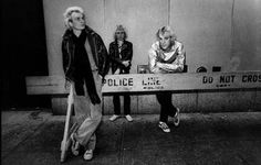 The Police (1978) - in New York, by great Rock'n'Roll photograph artist Lynn Goldsmith