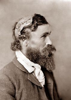Robert McGee. The picture was taken in 1890. As a child, Robert McGee was scalped by Indians