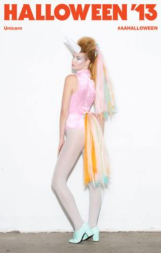 The Unicorn Costume for HALLOWEEN '13! For guides on this and many more costumes, check out our web store now! #AAHALLOWEEN