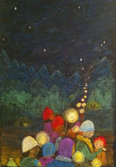 Lantern Walk, Martinamas, grade 3, Waldorf School of Atlanta