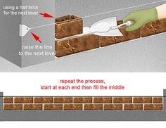 How to Build a Brick Wall: 7 steps (with pictures) - wikiHow