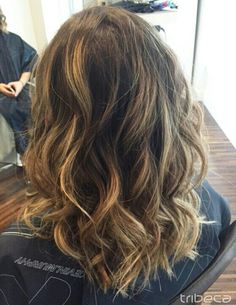 Tousled Sunkissed Locks by Tanya, beachy waves with blayage highlights