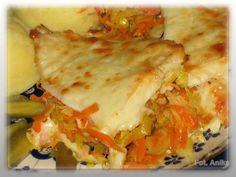 Ryba na warzywach z piekarnika Polish Recipes, Polish Food, Lasagna, Fish, Cooking, Ethnic Recipes, Blog, Poland, Keto