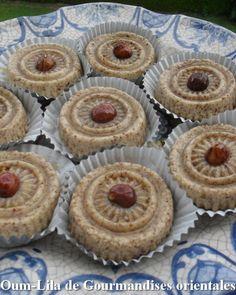 Pâtisserie orientale à la noisette - Gourmandises Orientales. Sans farine