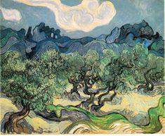 Van Gogh - Olive Alpilles