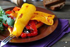 Острая закуска - жареный болгарский перец в чесночном маринаде » Женский Мир