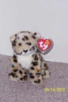 fe4cdf321eb SPOTTER CAT Ty Beanie Baby MINT WITH MINT TAGS